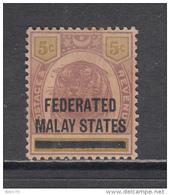 BRITISH MILITARY ADMINISTRATION ,  1945  VARIOS  SELLOS  / * / - Federated Malay States