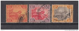 1921 - 1934    YVERT  Nº 68 , 69 , 70 - Federated Malay States