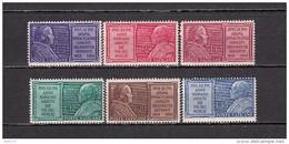 1954   YVERT  Nº   194 / 199   / ** / - Vatican