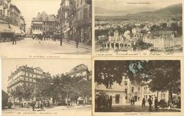 73 AIX LES BAINS  LOT 4 CARTES - Place Du Revard - Place Carnot - Vue Générale - Hôtel De Ville - Aix Les Bains
