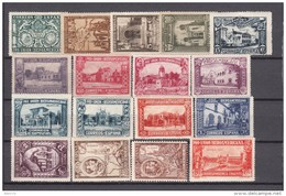 1930   EDIFIL  Nº 566 / 582   / * / - 1889-1931 Königreich: Alphonse XIII.