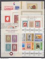 1956 - 1981   YVERT Nº HB 7, 8, 9, 11, 12, 13, 15, 21, 22,  /**/ - 1921-... República