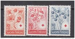 1958   YVERT  Nº 477 / 479    / * / - Finlandia
