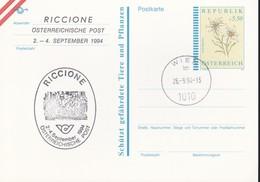 Austria Republik Osterreich POSTKARTE 1994 STORIA POSTALE S 5,50  RICCIONE 1994. - Interi Postali
