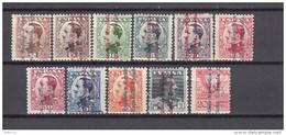 1931   EDIFIL  Nº  593 / 603   / * / - 1931-50 Nuevos & Fijasellos