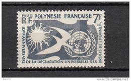 1960   YVERT  Nº   12   / ** / - Polinesia Francesa