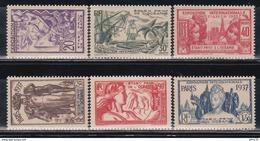 1937  YVERT  Nº 121 / 126  /**/ - Nuevos