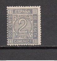 1872   EDIFIL  Nº  116  / * / - Nuevos