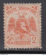 1921  YVERT Nº 106 MH - Albania
