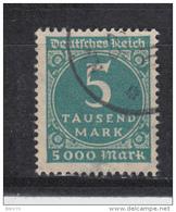 1923    MICHEL  Nº  274    -- Geprüft -- - Usati