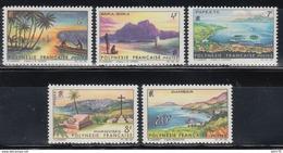 1964   YVERT Nº  30 / 34  /**/ - Polinesia Francesa