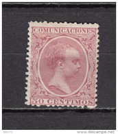 1889   EDIFIL  Nº   224    / * / - 1889-1931 Reino: Alfonso XIII