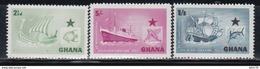 1957   YVERT Nº  14 / 16   /**/ - Ghana (1957-...)