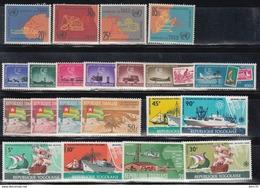 1961- 1968.  YVERT Nº 274 / 277, 371 / 376, 381 / 384, 573 / 576, Aéreo. 37,   93 / 94.   /**/ - Togo (1960-...)