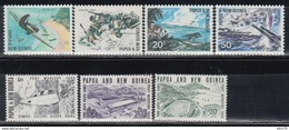 1967 -    YVERT Nº 118 / 121, 157 / 159,   /**/ - Papúa Nueva Guinea