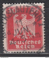 1924 Michel Nº 357y,   Gestempelt Geprüft - Usados