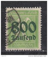 1923    MICHEL  Nº 302 A   -- Geprüft -- - Usati