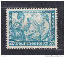 1933    MICHEL  Nº  505 B      / ** /      -- Gerprüft -- - Nuevos