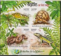 Burundi - 2012 - N°1548 à 1541 - Reptiles - Non Dentelé / Imperf. - Neuf Luxe ** / MNH / Postfrisch - Cote 18€ - Reptiles & Batraciens