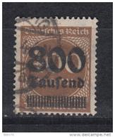 1923    MICHEL  Nº 305 A   -- Geprüft -- - Usati