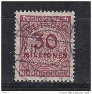 1923    MICHEL  Nº  320  A W   -- Geprüft -- - Usados