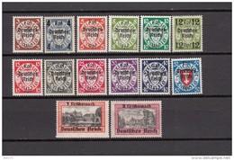 1939   MICHEL  Nº   716 / 729      / ** / - Deutschland