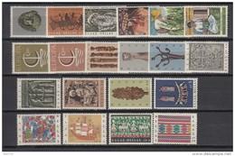 1966   VARIOS  SELLOS     / ** / - Grecia