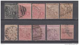 1871 - 1882   VARIOS SELLOS - Cape Of Good Hope (1853-1904)