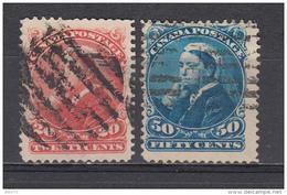 1893  YVERT   Nº   36 / 37 - 1851-1902 Reinado De Victoria