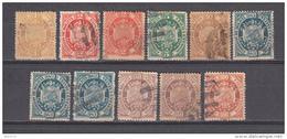 1894  YVERT N 39 / 45 - Bolivia