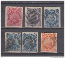 1887  YVERT N 23 / 26 - Bolivia