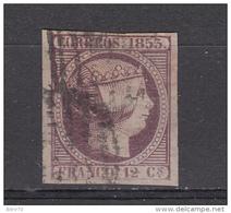 1853  EDIFIL Nº 18  -- PERFECTO -- - 1850-68 Reino: Isabel II