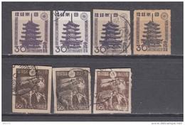 1946  - 1947  YVERT Nº 362 , 363 - 1926-89 Empereur Hirohito (Ere Showa)