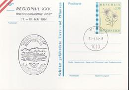 Austria Republik Osterreich POSTKARTE 1994 STORIA POSTALE S 5,50  REGIOPHIL XXV - BELLINZONA '94. - Interi Postali