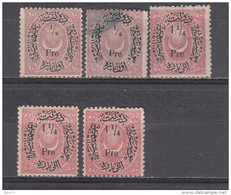 1876 - 1882   YVERT Nº 39 , 41 - Nuevos