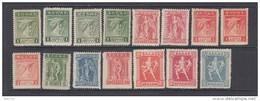 1912 - 1922  VARIOS  SELLOS  / * / - Grecia