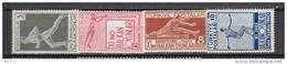 1940   YVERT  Nº 943 / 946   / * / - 1921-... República