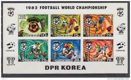 KOREA 1981   YVERT  Nº   1643 / 1647    S / D    / ** / - 1982 – Espagne
