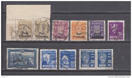 1929  VARIOS SELLOS - Noruega