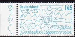 GERMANY, 2019, MNH,MOUNTAINS, ALPINE CLUB, 1v - Geology