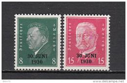 1930   MICHEL  Nº 444 / 445  / ** / - Nuevos