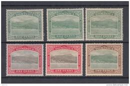 1907  YVERT  Nº 35 , 36 , 37   / * / - Dominica (...-1978)