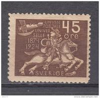 1924  YVERT  Nº  186   /  * / - Suède