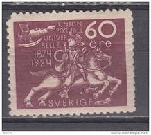 1924  YVERT  Nº  188   /  * / - Suède