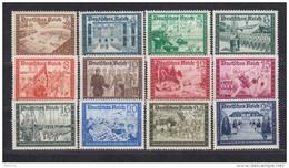 1939   MICHEL   Nº  702 / 713  / ** / - Alemania