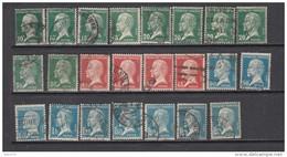 VARIOS SELLOS - 1922-26 Pasteur