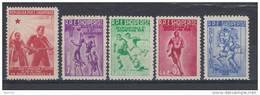 1947 -1959 YVERT N 369 , 507 /10 MH / * / - Albania