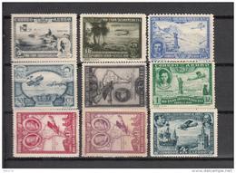 1930    EDIFIL  Nº  583 / 591   /  * / - 1889-1931 Königreich: Alphonse XIII.