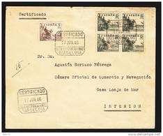 MATASELLOS CERTIFICADO FERIA NACIONAL DEL LIBRO 17-JUN - 46  CORREO INTERIOR - 1931-Hoy: 2ª República - ... Juan Carlos I