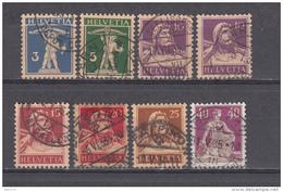 1924  MICHEL  Nº  198 Z  / 208 Y - Usados